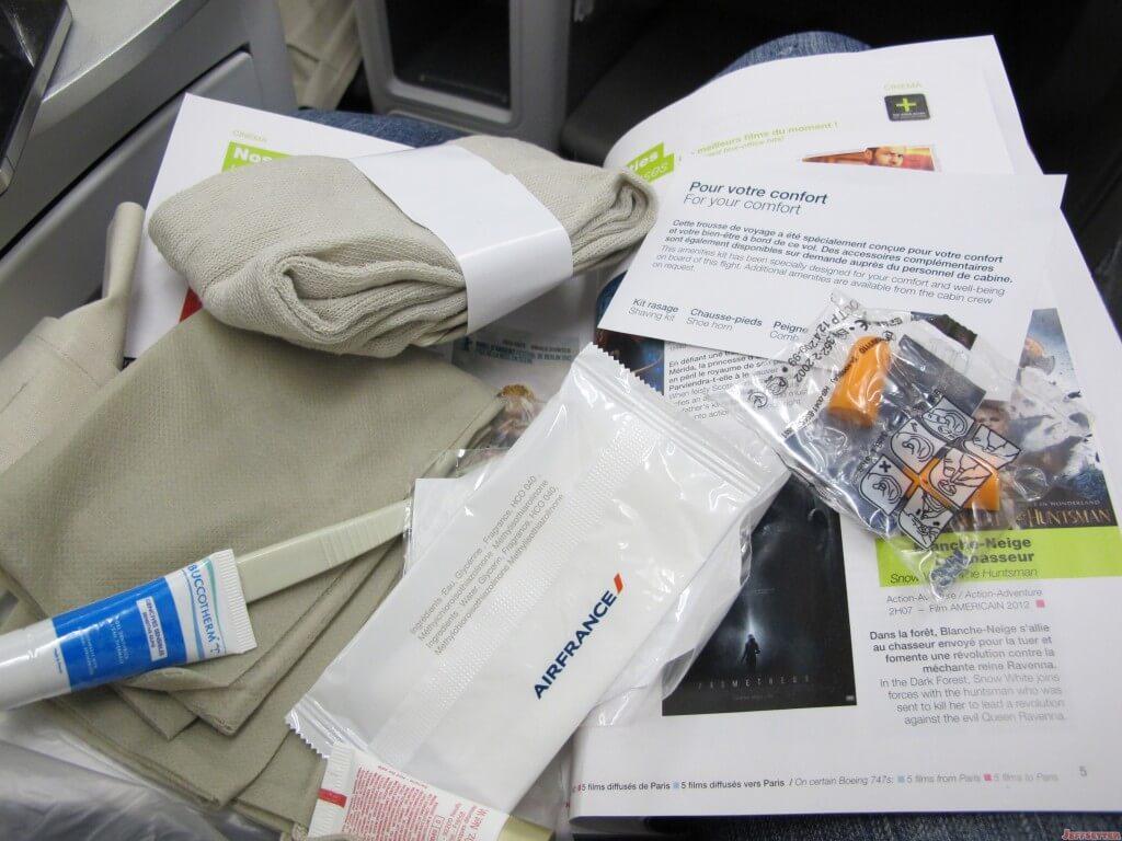 International Business Class Amenity Kit