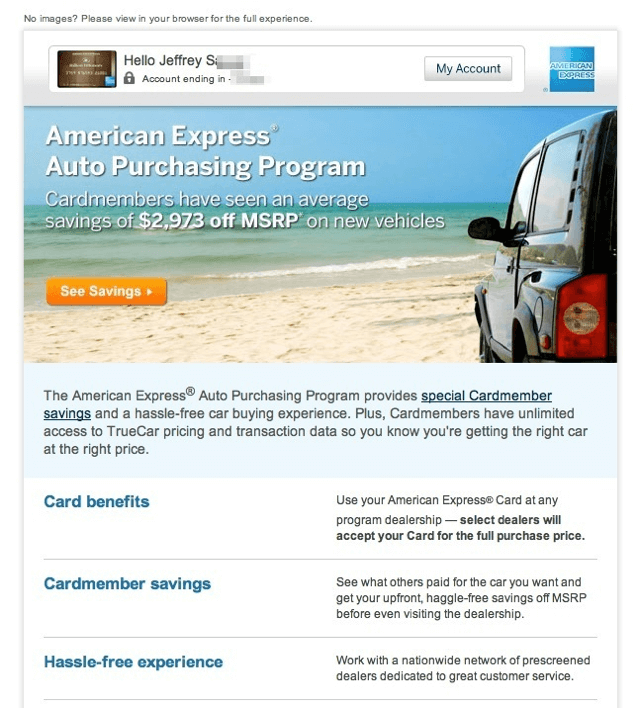 American Express Online Savings >> Can You Buy A Car Using A Credit Card Yes You Can Do That