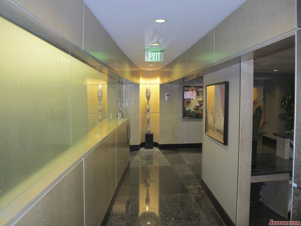 Hallway to the Main Seating Area
