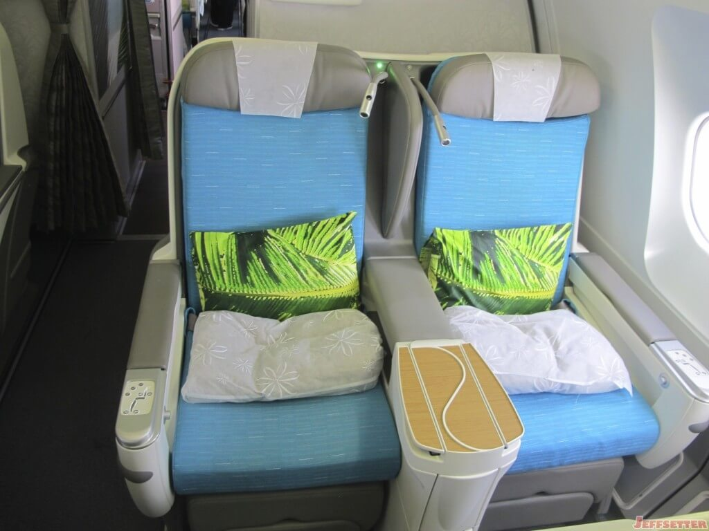 Air Tahiti Nui Business Class Seats