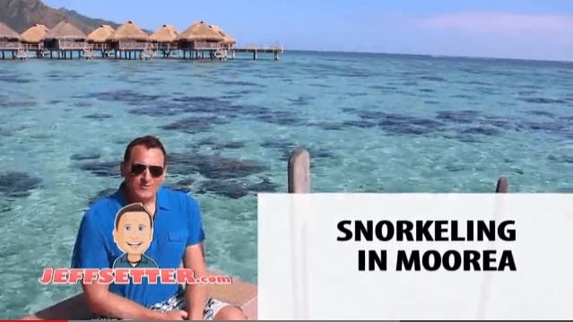 Snorkeling Moorea Lagoon