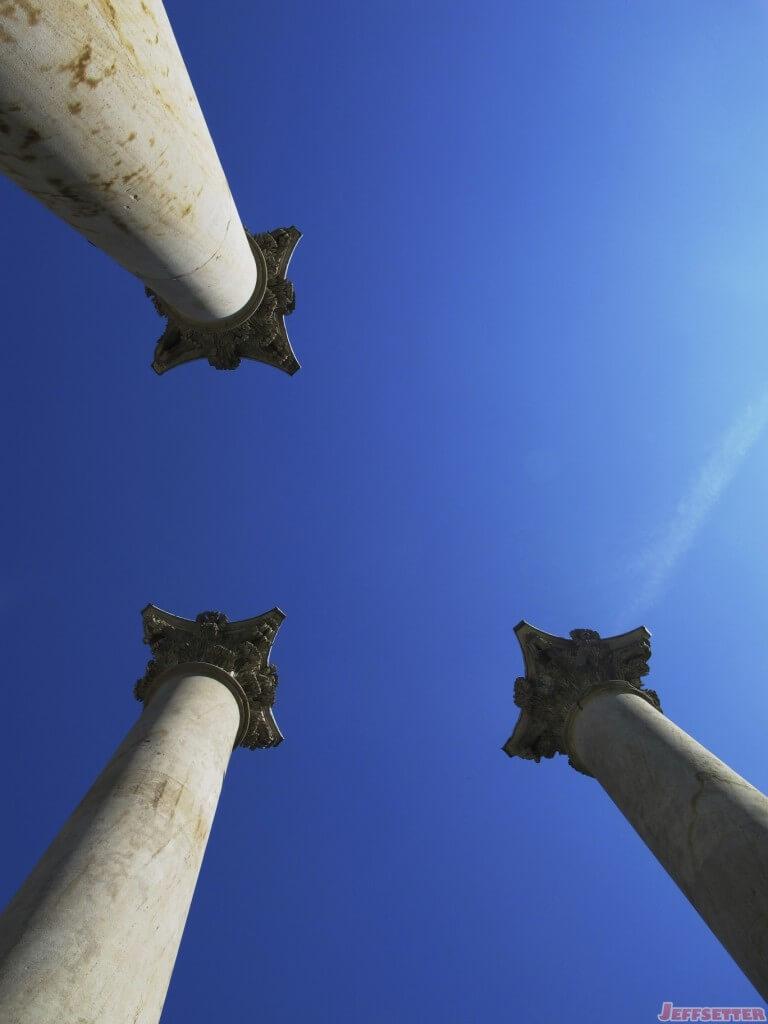Capital Columns from Below
