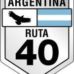 Argentina Ruta 40 Road Sign