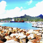 [Friday Photo] Beautiful Rarotonga Harbor