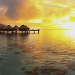 [Friday Photo] Sunset over the Lagoon in Moorea, French Polynesia