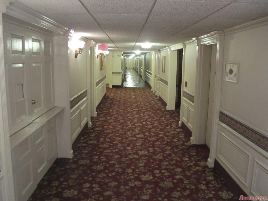 Hallway Leading to Rooms