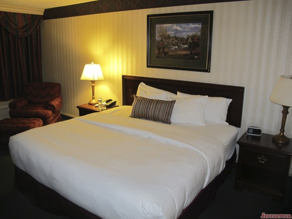 Nice King Size Bed at the Madison Hotel