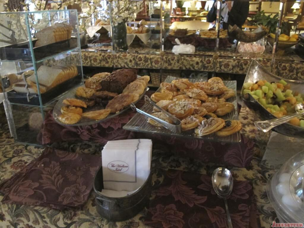 Pastries and Fruit