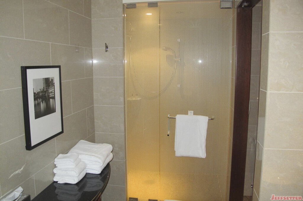 Outside the Shower Area