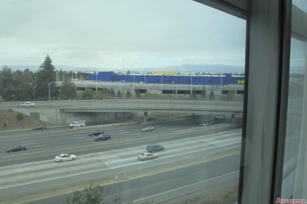 Lovely View of the 101 Highway from my Window