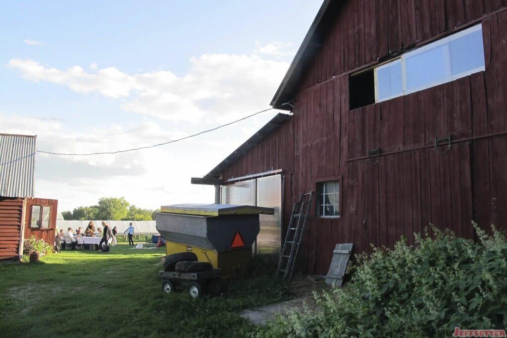 Machine Barn at the Pizza Farm