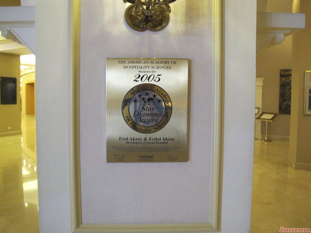 Conrad Istanbul Hotel 034