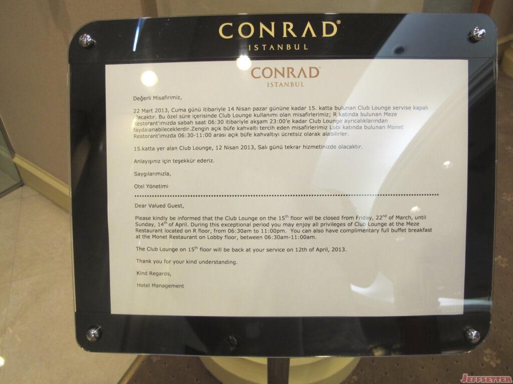 Conrad Istanbul Hotel 048