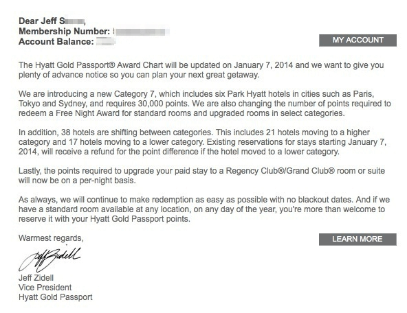 Letter To Customer Announcing Change from www.jeffsetter.com