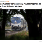 Seeking Inspiration from the Countryside? Maybe a Free Ride on Amtrak Will Help!