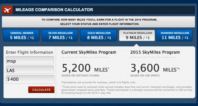 Delta Flight to Vegas