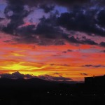 Sunset over Asheville North Carolina's Blue Ridge Mountains [Photo of the Week]