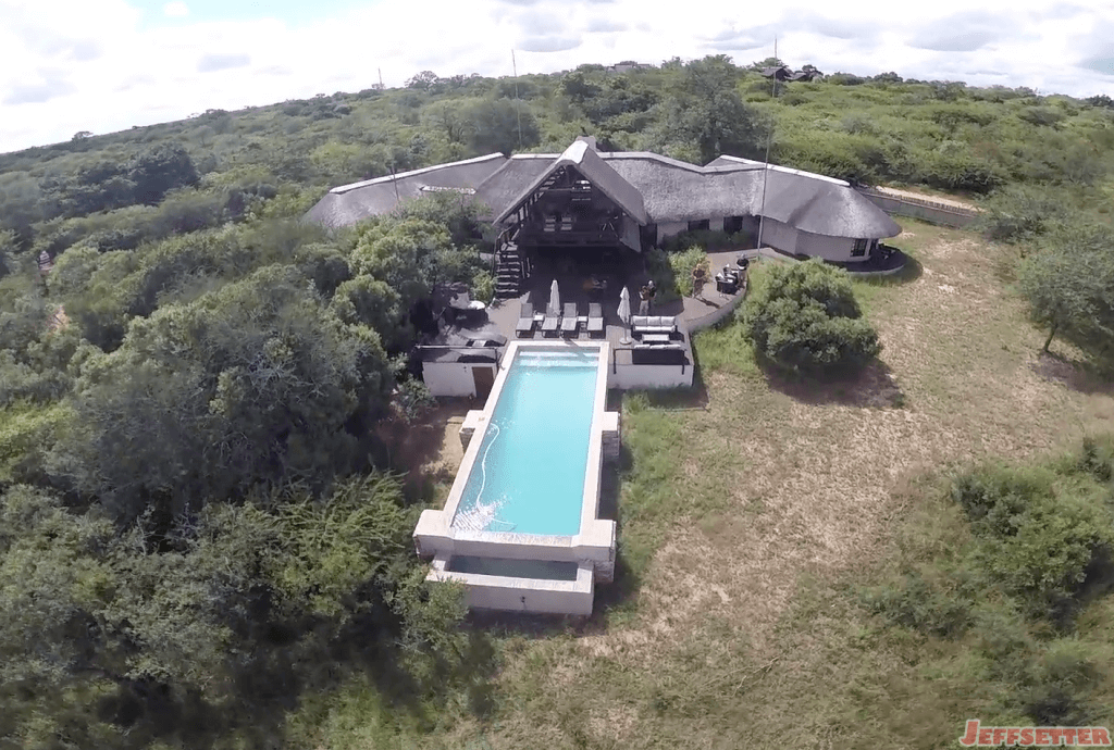 Vuyani Lodge Overhead