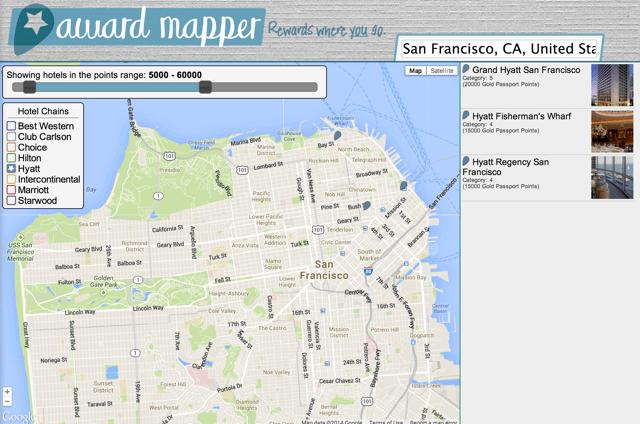 Award Mapper San Francisco