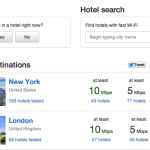 Help Your Fellow Travelers With Hotel Wifi Test