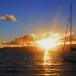 Sunset on Jost Van Dyke