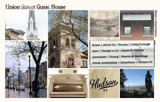 Union Street Guest House Website