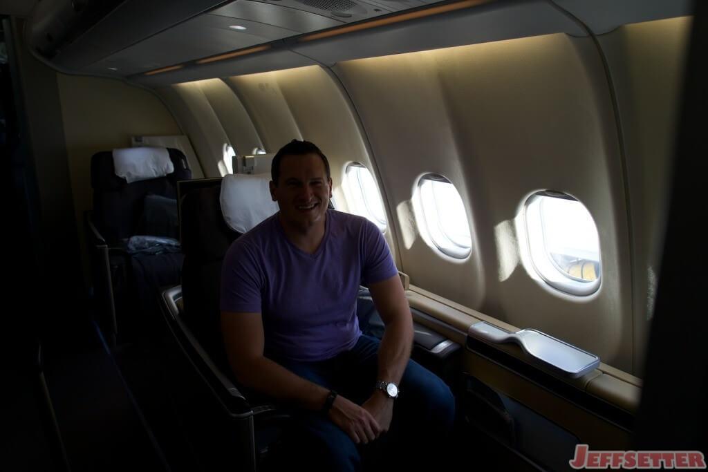 Lufthansa First Class 14