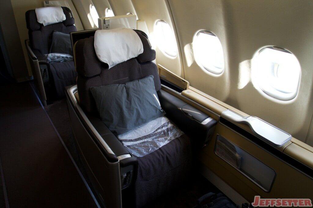 Lufthansa First Class 17