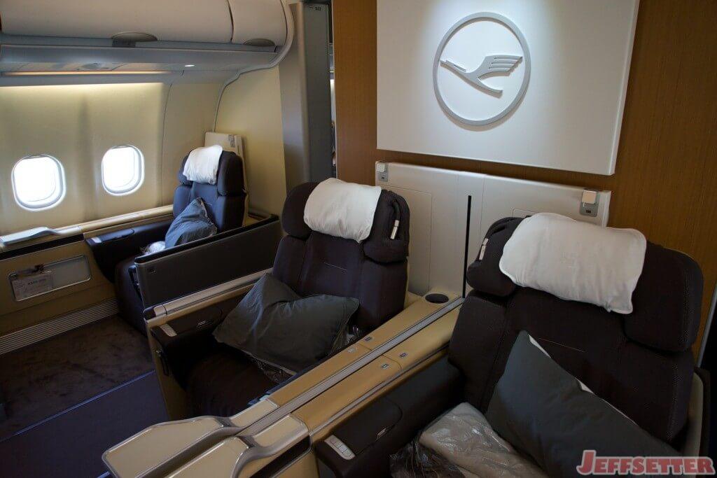 Lufthansa First Class 19