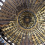 Dome at the Hagia Sophia in Istanbul