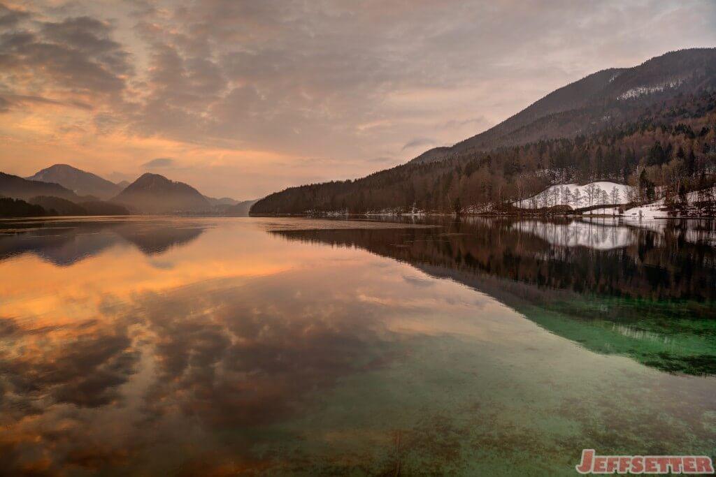 Lake Fuschl Sunrise 1