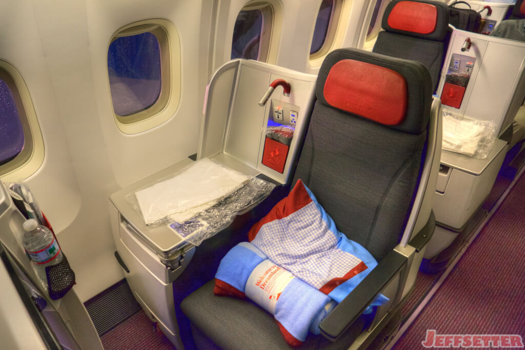 Austrian Airlines Business Class 767 Review