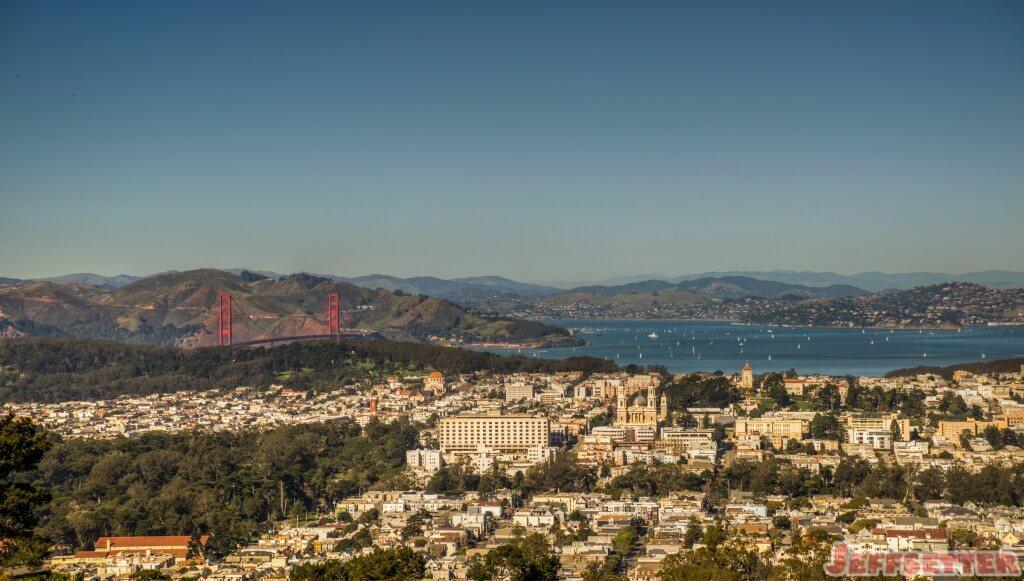 Golden Gate From Twin Peaks