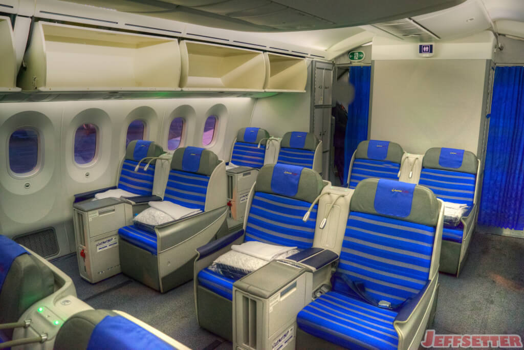 Lot Polish Airlines 787 Dreamliner Business Class Review