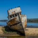 Shipwreck at Bolinas Point – Point Reyes, California