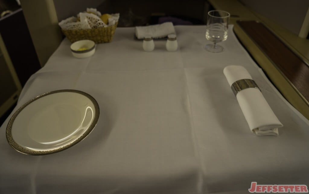 Thai Airways First Class-17