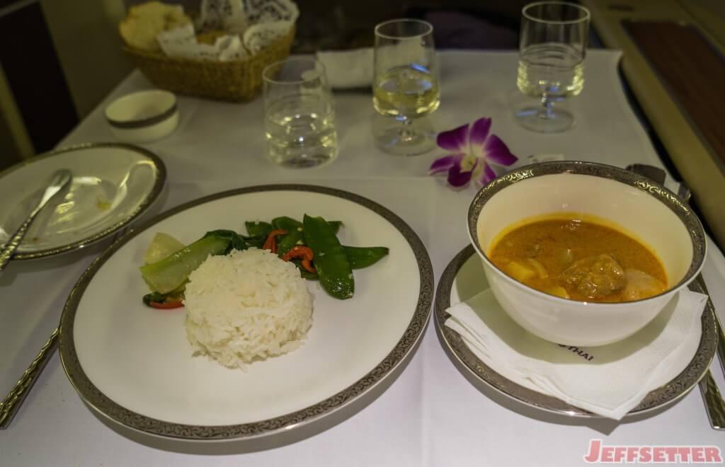 Thai Airways First Class-21