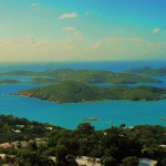 Hassel Island from St. Thomas, US Virgin Islands