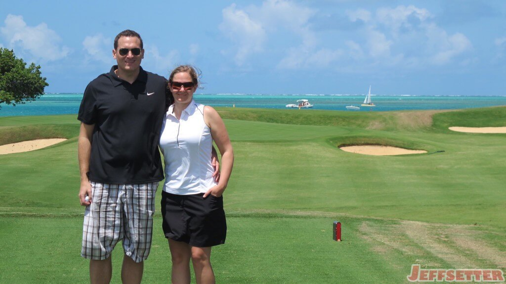 Golf Posing!