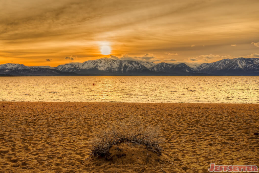 Lake Tahoe Sunset Jeffsetter Travel
