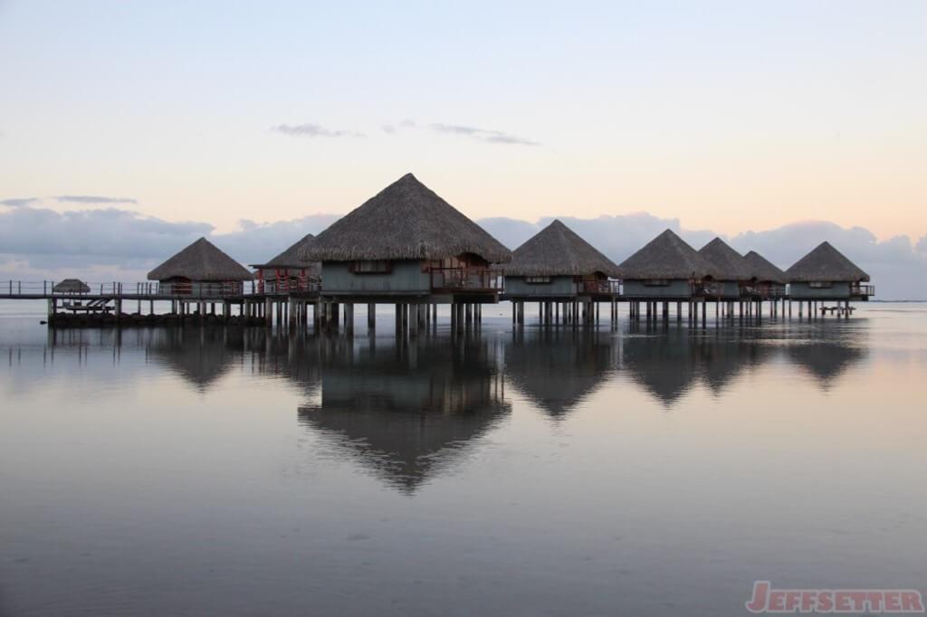 Le Meridien Tahiti Overwater Bungalow