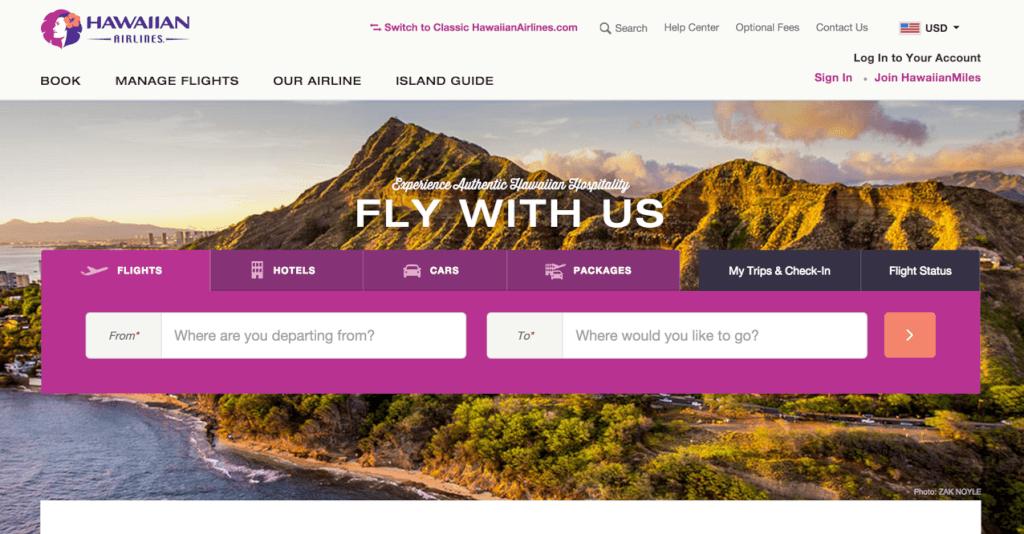New Hawaiian Website
