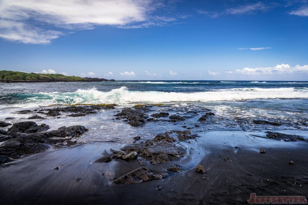 Hawaii Big Island Punaluu Black Sand Beach-15