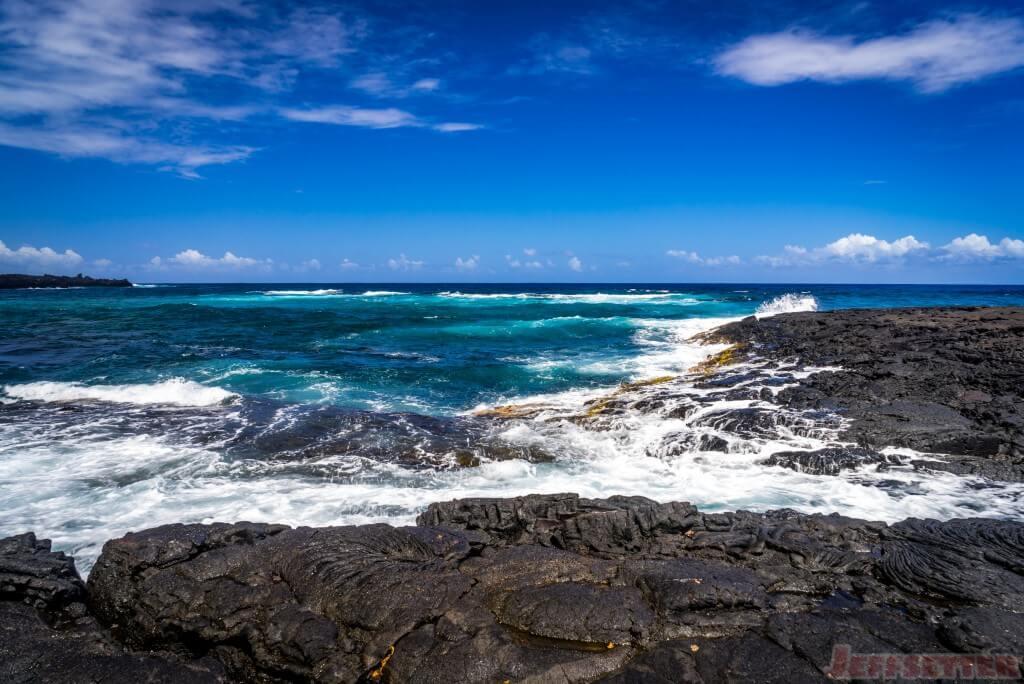 Hawaii Big Island Punaluu Black Sand Beach-9