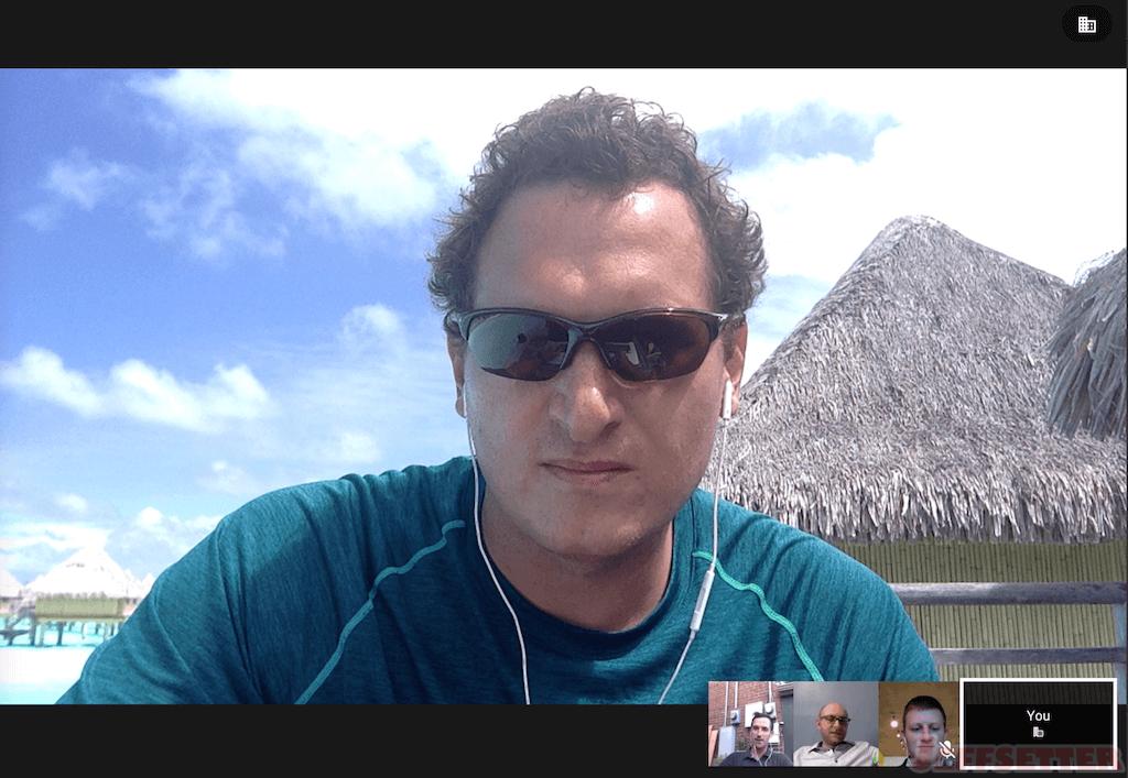 Jeff on Google+ Hangout