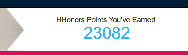 HHonors Points
