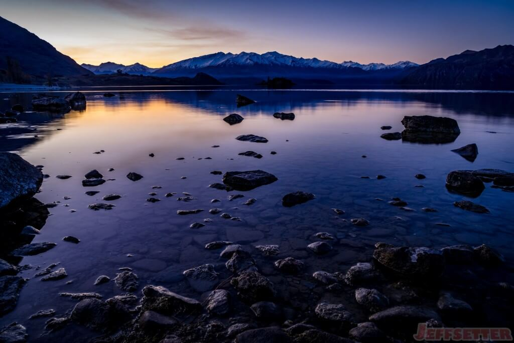 Last Lake Wanaka Sunset-1