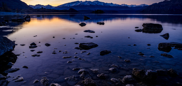 One Last Sunset in Wanaka Before Hitting the Road [Love this Photo]