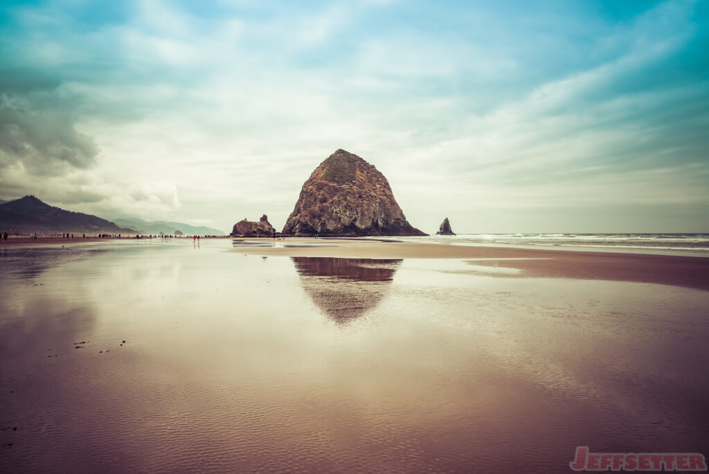 The Goonies Rock in Cannon Beach, Oregon