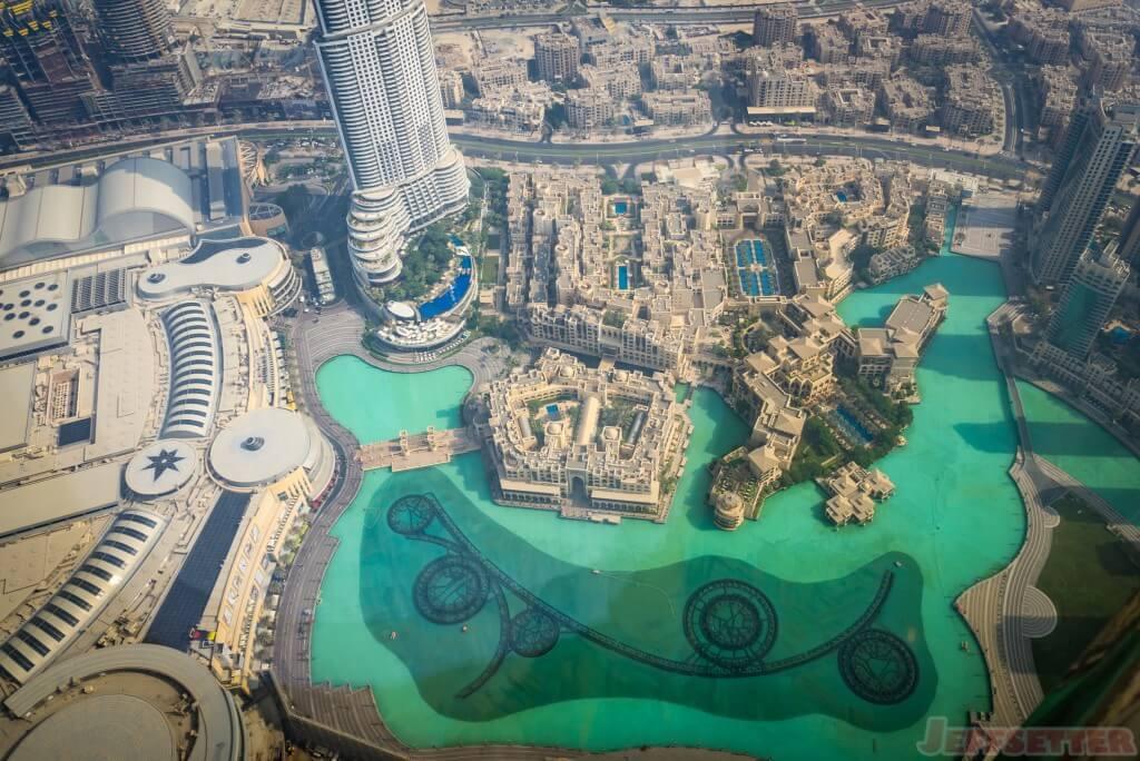 View from 122nd Floor Burj Khalifa-1